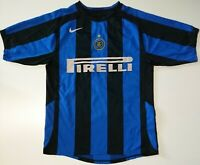 INTER MILAN ITALY 2005/2006 HOME FOOTBALL SHIRT JERSEY NIKE SIZE S ADULT