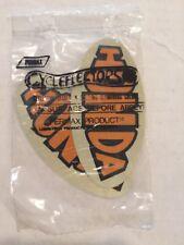 2-NOS Vintage Decal Sticker Honda Motorcycle Mini Bike Cycleflectors Reflective