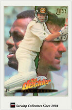 1996/97 Futera Cricket Decider Regular Oversize Box Card XL4- Mark Waugh
