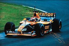 "Johnny Herbert firmado 12x8 F1 flechas-Asiatech A22 1991 GP temporada ""Test Driver"""