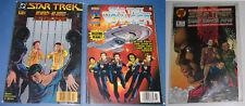 3 STAR TREK Comic Books Original Series Voyager Deep Space Nine DC Marvel Spock