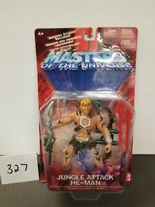 Jungle Attack He-Man 2002 MOTU Masters of the Universe Mattel MOC 200x