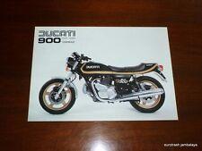 NOS Ducati 900 Darmah Brochure EXTRA QUALITY bevel twin desmo