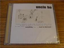 CD Album: Uncle Ho : Everything Must Be Destroyed  : Sketch  Cover : Sealed