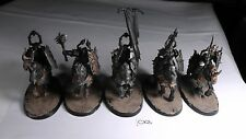 Chaos Knights x 5 Painted Knight Warriors of Chaos Slaves Darkness Chaos Lot 3