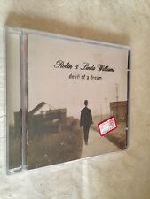 ROBIN & LINDA WILLIAMS CD DEVIL OF A DREAM SUGAR HILL1998 ROCK SONGWRITERS