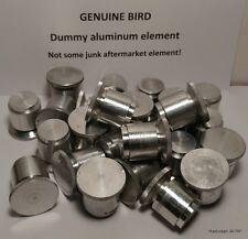 GENUINE Bird 43 Thruline Wattmeter Blank Element Dummy Slug (New) OEM original