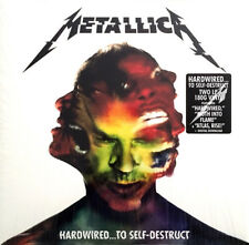 Hardwired...To Self-Destruct [LP] by Metallica (Vinyl, Nov-2016, 2 Discs, Blacke