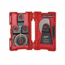 Milwaukee Power Tools 9-Piece Multi-Tool Blade Kit Universal Shank Oscillating