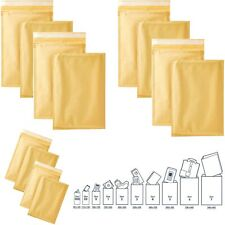 100 Pieces Padded Bubble Anvelope Mail Postal Bag Perfect For Large Letter A4