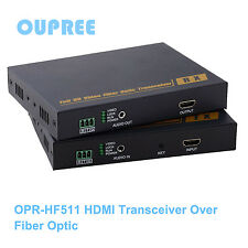 OPR-HF511 10KM hdmi extender over fiber optic, HDMI Transceiver Over Fiber Optic