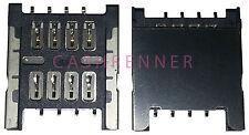 SIM Connector tarjetas lectores soporte Card Reader Connector HTC Nexus One g5 aria g9