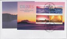 "2015 FDC AAT. Colours of Australian Antarctic Territory. MS. Pict.FDI ""KINGSTON"""