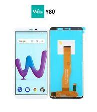 LCD WIKO Y80 TOUCH SCREEN DISPLAY VETRO SCHERMO BIANCO W-V720 BIANCO