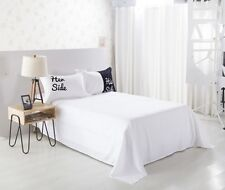 Couple Lover His Her Side Quilt Doona Duvet Cover Set Single/Queen/King Size Bed