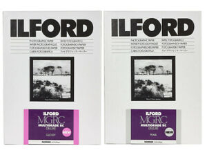 Ilford Multigrade V RC Deluxe Paper - Choice of Sizes - GLOSS or PEARL