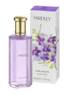 Yardley London - Eau De Toilette 50ml APRIL VIOLETS Perfume Spray Scent EDT