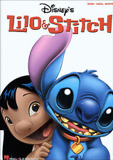 DISNEY'S LILO & STITCH Piano Vocal Guitar Sheet Music Book Songbook Shop Soiled