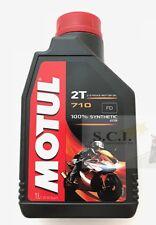 HONDA CR250R YZ250 MOTUL ESTER SYNTECTIC 710 2T ESTER 2 STROKE ANTI-SMOKE 1L