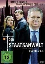 Der Staatsanwalt - 3 u. 4 Staffel - Rainer Hunold - Fiona Schwartz - 3 DVD Box