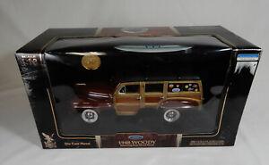 1948 Ford Woody Signature Series 1:18 Scale Yat Ming NIB