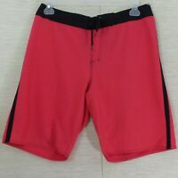 Hang Ten Board Shorts SZ 34 Unlined Swim Trunks Coral  Men's Streetwear