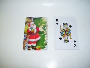 Santa Claus Playing Cards Checking His List Full Deck 54