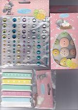 Adorno Set - (Gemas, Cinta & Botones Madera) Tatty Teddy Me To You Easter