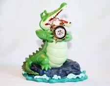 New Nib 1997 Disneyana Convention Peter Pan Tick Tock Crocodile W/Clock Figurine