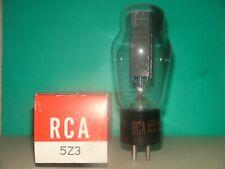 Unused RCA 5Z3 Vacuum Tube Results =  2700 2625