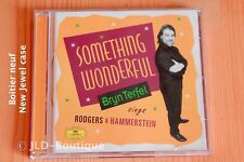 Songs Broadway - Something Wonderful - Rodgers & Hammerstein - Terfel - CD DGG