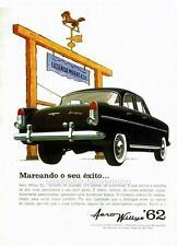 Old Print. 1962 Aero-Willys Sedan (South America)