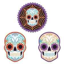 Day of Dead Dia de Muertos Skeleton Skull Halloween Party Decoration Cutouts