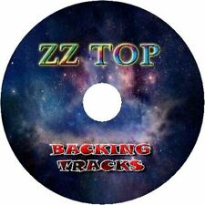 ZZ TOP GUITAR BACKING TRACKS CD BEST GREATEST HITS MUSIC PLAY ALONG BLUES ROCK
