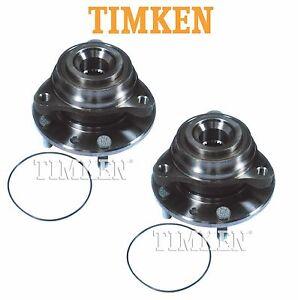 For Chevrolet Corvette 84-96 Pair Set of Rear Wheel Bearings Hubs Timken 513020
