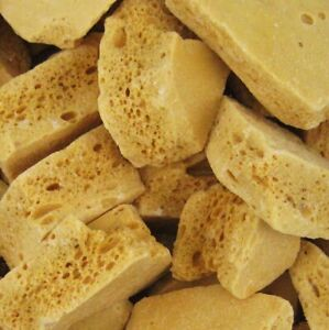 Honeycombe Cinder Toffee pieces sweet hard crunchy candy chunks VEGETARIAN
