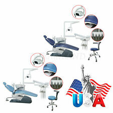 Us Dental Unit Chair Hard Leather Computer Controlled Motor With Stool Fda Ce Or