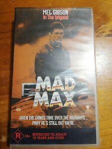 Mad Max VHS Free Shipping