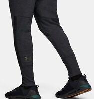 Men's Under Armour Gray UA Accelerate Off-Pitch Sweatpants Pants NWT Size XL
