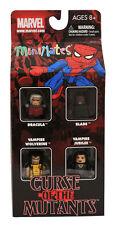 Marvel Minimates Curse of the Mutants Box Set Wolverine Blade Dracula Jubilee