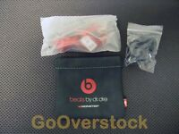 urBeats by dr. dre Earbuds In Ear Headphones with inline Mic Control - Black/Red