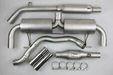 Ligne Inox Clio 3 RS 203 phase 2 Catback 63mm + Catalyseur Sport GT Performance