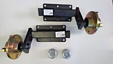 "TRAILER SUSPENSION UNITS 350KG WITH HUBS 4""PCD"