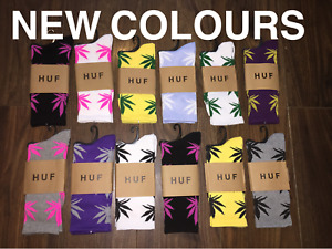 **SALE**HUF Plantlife Marijuana Weed Crew Socks Unisex - UK SELLER 420 Gift
