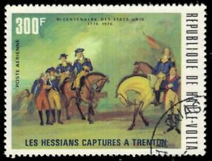 "UPPER VOLTA C210 - US Bicentennial ""Hessians Captured at Trenton"" (pb23367)"