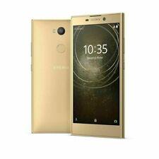 """Sony Xperia L2 4G 5.5 """" Oro 32gb Smartphone LTE NO BRAND / NUOVO GARANZIA ITALIA"""