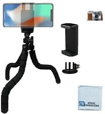 Flexible Tripod with Universal Mount for all IPHONES, SAMSUNG AND MANY MORE!
