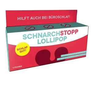 Liebeskummerpillen, Schnarchstopp Lollipop, Lutscher, 3 Stück, 25 g