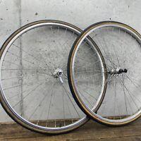 "Vintage 27"" Wheel Set Weinmann Sovos Road Bike"