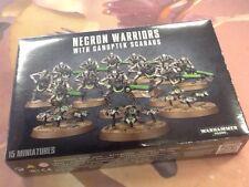40K Warhammer Necron Warriors Box Sealed